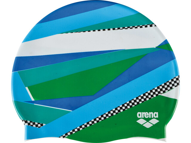 arena Print 2 Bonnet de bain, stripes green